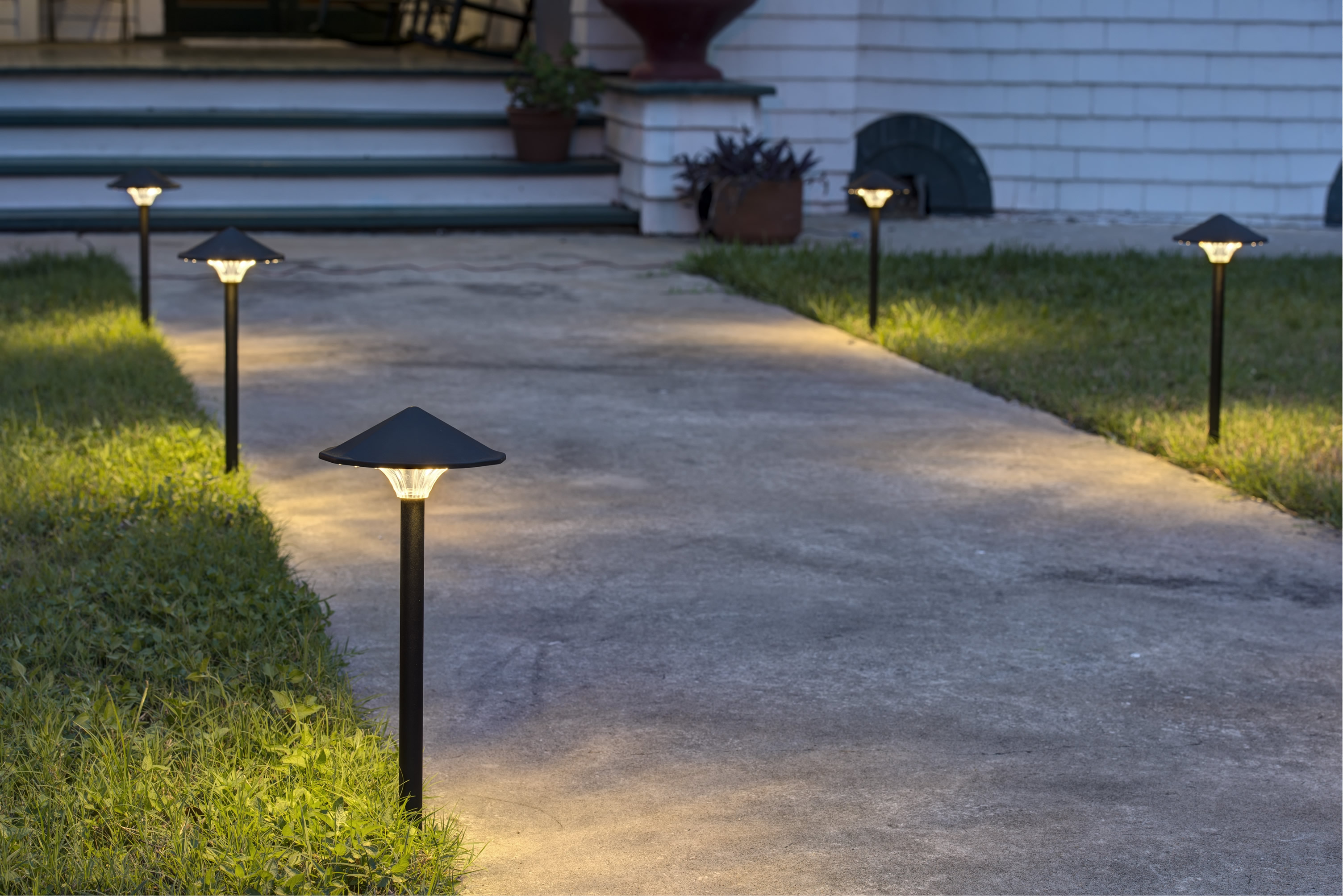 Commercial Landscape Lighting