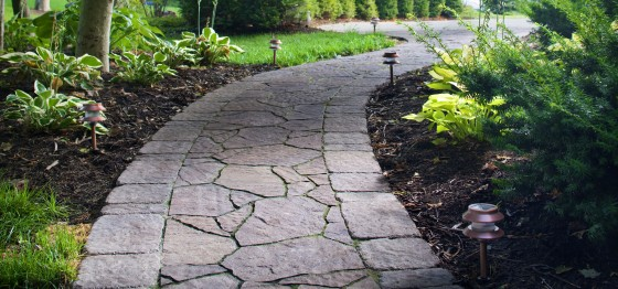 Beautifying Your Landscape With Stone Paver Walkways