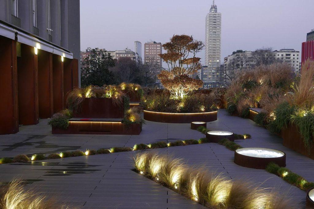 Landscape Lighting - Commercial Property